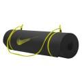 Nike Fitness Trainings- und Yogamatte 180x61x0,8cm schwarz/volt