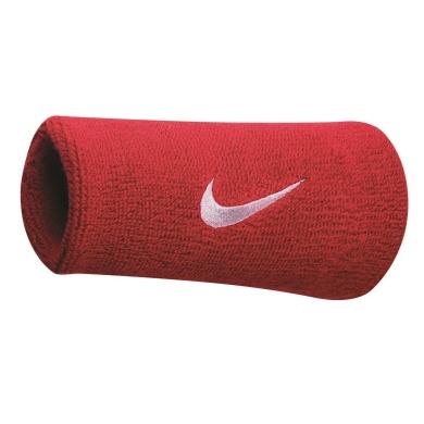 Nike Schweissband Swoosh Jumbo rot 2er