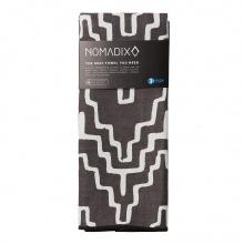 Nomadix Duschtuch (Strandtuch) Cocora schwarz 76x185cm