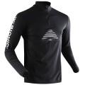 X-Bionic Cross Humdinger Zip-Shirt schwarz Longsleeve Herren (Größe L)