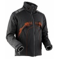 X-Bionic Evo Ski-Jacke schwarz/orange Herren