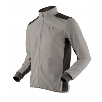 X-Bionic Ski Transmission Jacke Standard titan Herren (Größe L)