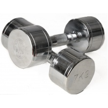 Oliver Fitness Hanteln Chrom 7,0kg Set