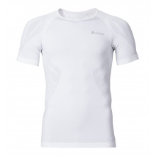 Odlo Tshirt Evolution Light s/s crew neck weiss Herren