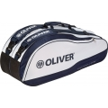 Oliver Racketbag Top Pro weiss/marine