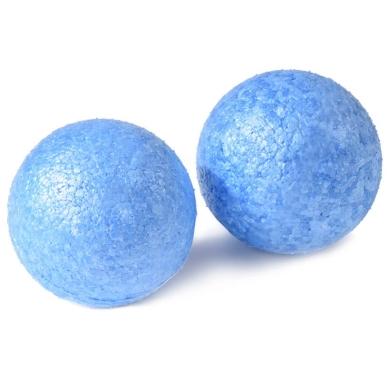Oliver Fitness Faszienball einzeln hart blau 2er