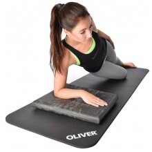 Oliver Fitness Trainingsmatte 180x60x1,5cm anthrazit