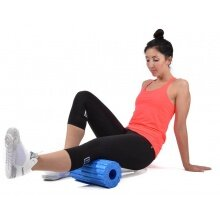 Oliver Fitness Faszienrolle 32cm gerillt blau