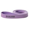 Oliver Fitness Widerstandsband Strongband -mittel- violett 100cm/2,85cm