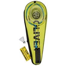 Oliver Badminton Set Speedpower 850 (2x Schläger, 3x Bälle, 1x Hülle)