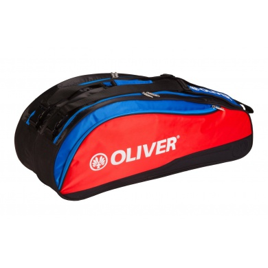 Oliver Racketbag Top Pro 2016 rot/blau