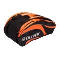 Oliver Racketbag Triple 2016 schwarz/orange