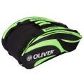 Oliver Racketbag Triple 2016 schwarz/grün