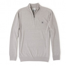 Oxbow Pullover 1/2 Zip Pumpston 2017 grau Herren