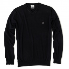Oxbow Sweater V-Neck schwarz Herren