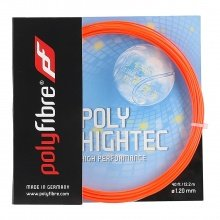 Besaitung mit Polyfibre Poly Hightec rot