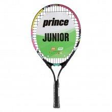 Prince Pink 21 schwarz/pink (4-7 Jahre) Kinder-Tennischläger - besaitet -
