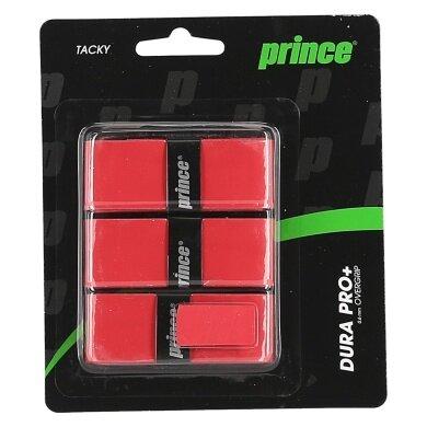 Prince Dura Pro+ Overgrip 3er rot