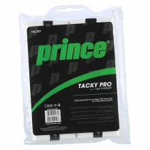 Prince Tacky Pro 0.6mm Overgrip 12er weiss