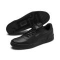 Puma Sneaker Caracal Premiumleder schwarz Herren