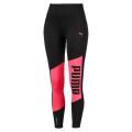 Puma Pant Leggings 7/8 Logo Graphic schwarz/pink Damen