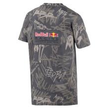 Puma Tshirt Red Bull Racing AOP 2019 grau Herren