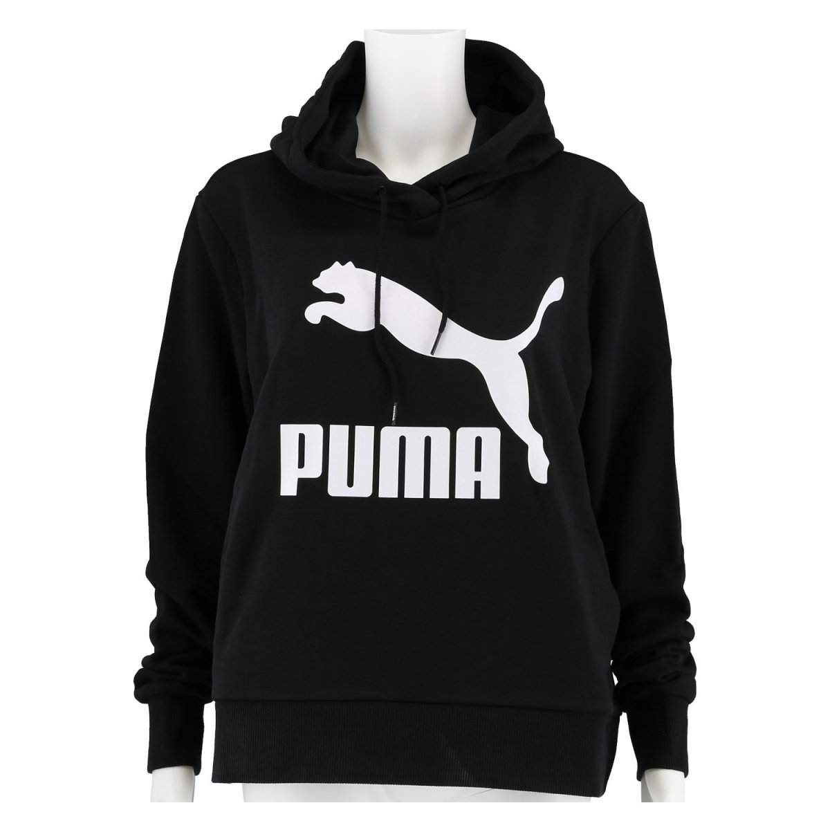 detailing the cheapest outlet boutique Puma Hoodie Classic Logo 2019 schwarz Damen