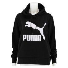 Puma Hoodie Classic Logo 2019 schwarz Damen