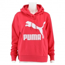 Puma Hoodie Classic Logo pink Damen