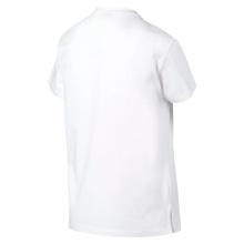 Puma Shirt Classic Logo 2019 weiss Damen