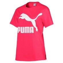 Puma Shirt Classic Logo 2019 pink Damen