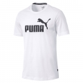 Puma Tshirt Essentials 2019 weiss Herren
