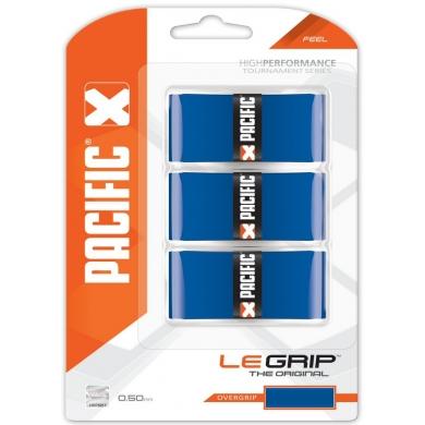 Pacific Overgrip Le Grip 0.55mm blau 3er