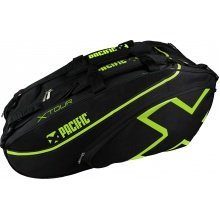 Pacific Racketbag X Tour 2XL 2019 schwarz/lime 12er