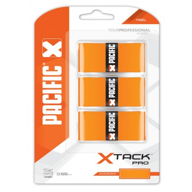 Pacific Overgrip xTack Pro 0.55mm orange 3er