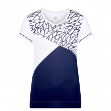 Poivre Blanc Shirt Graphic 2020 weiss/blau Damen