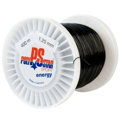 Polystar Energy schwarz 400 Meter Rolle
