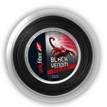 Polyfibre Black Venom Rough 1.25 schwarz 200 Meter Rolle