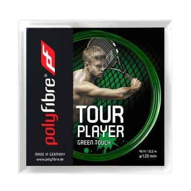Polyfibre Tour Player green Touch 1.23 grün Tennissaite