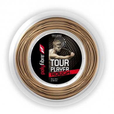 Polyfibre Tour Player Rough 1.25 natur 200 Meter Rolle