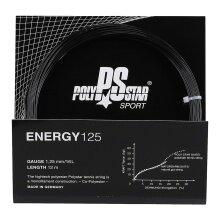 Polystar Energy schwarz Tennissaite