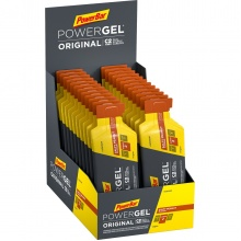 PowerBar PowerGel Original (Kohlenhydrat-Gel) Salzige Erdnuss 24x41g Box