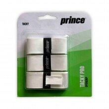 Prince Overgrip Übergriffband Tacky Pro 0.6mm weiss - 3 Stück