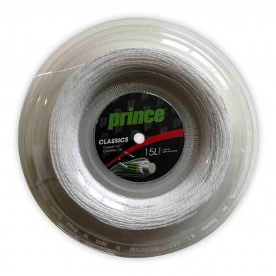Prince Tennissaite TopSpin mit Duraflex (Spin+Allround) weiss 100m Rolle
