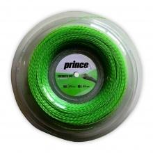 Prince Tennissaite Synthetic Gut mit Duraflex (Allround+Haltbarkeit) grün 200 Meter Rolle