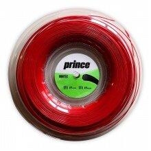 Prince Tennissaite Vortex (Haltbarkeit+Spin) rot 200m Rolle