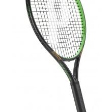 Prince Tour 100P 25 schwarz/grün Kinder Tennischläger - besaitet - (9-12 Jahre)