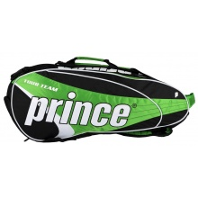 Prince Racketbag Tour Team 2014 grün 6er