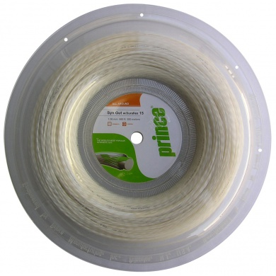 Prince Synthetic Gut Duraflex weiss 200 Meter Rolle