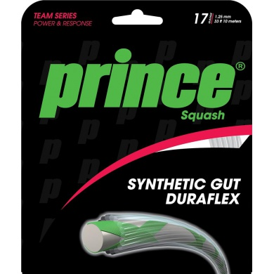 Prince Synthetic Gut DF 1.25 weiss Squashsaite